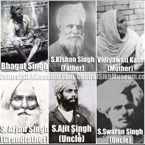 Bhagat Singh ji's Family