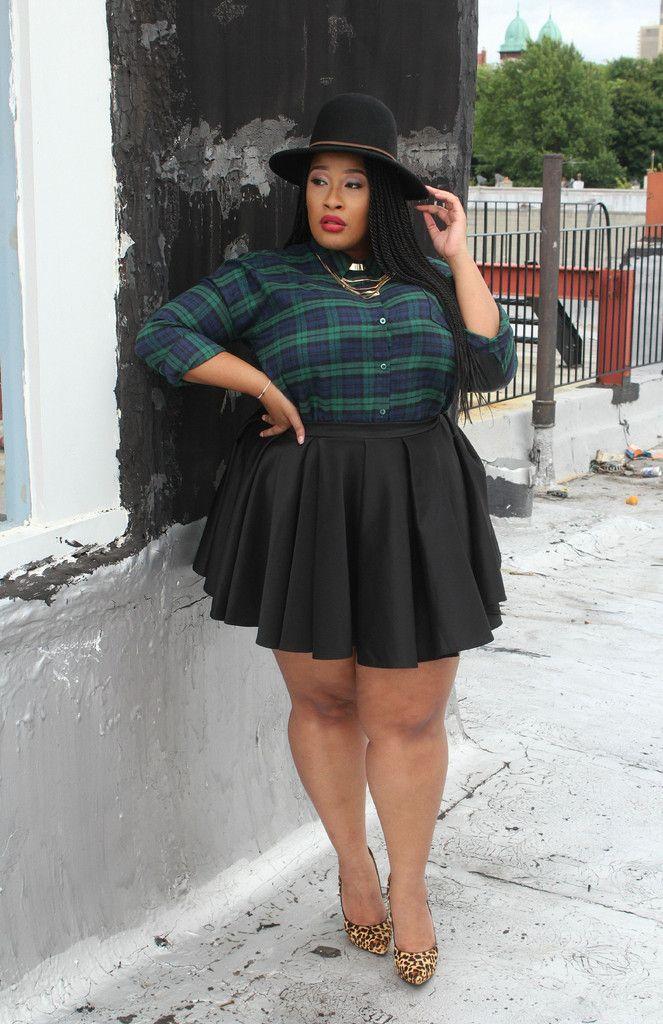 girl fashion Chubby