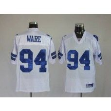 Cowboys #94 DeMarcus Ware White Stitched NFL Jersey