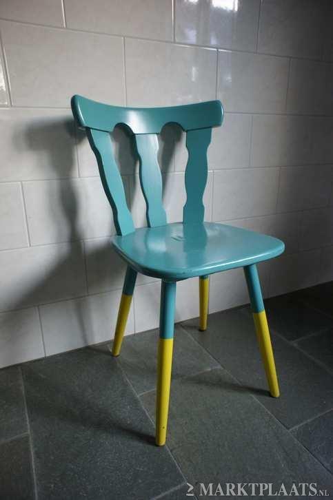 Marktplaats.nl > Retro houten stoel - Huis en Inrichting - Stoelen