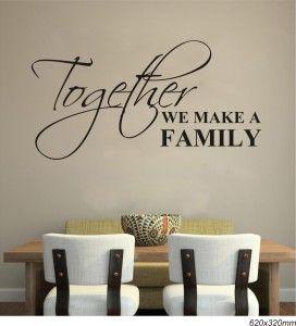 together we make a family black