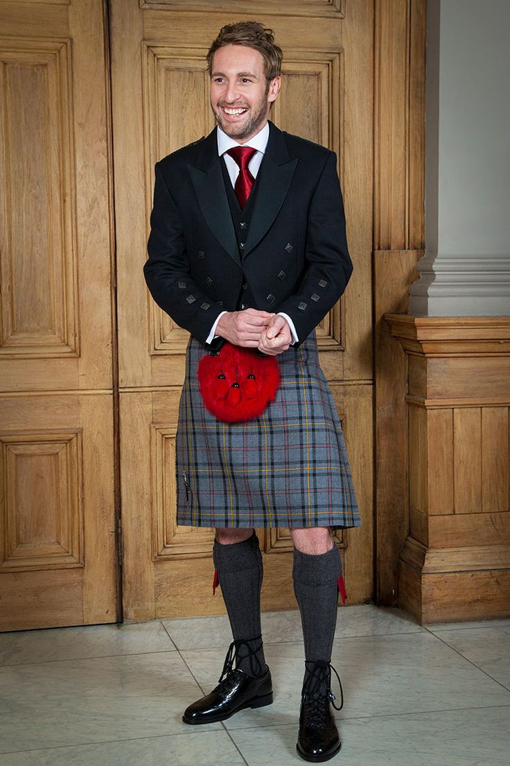 Planning a Scottish Wedding? Highland Autumn Tartan Kilt for the Groom or Wedding Party // Slaters Highland Retail Collection // Men in Kilts