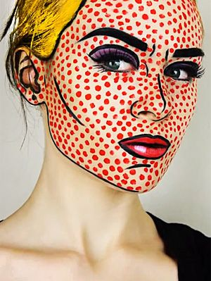emma+pickles+pop+art | Emma Pickles.  She is the best make up artist eva!