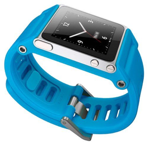 TikTok Armband für iPod Nano, Blau, 4152 - http://on-line-kaufen.de/tiktok/blau-tiktok-uhrenarmband-fuer-ipod-nano