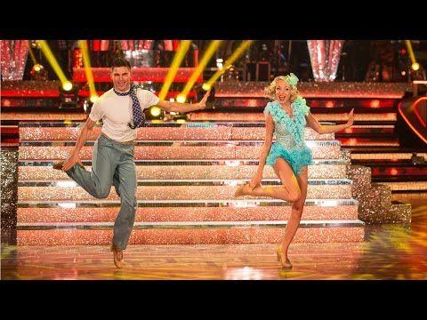 Helen George & Aljaz Skorjanec Charleston to 'Anything Goes' - Strictly Come Dancing: 2015 - YouTube