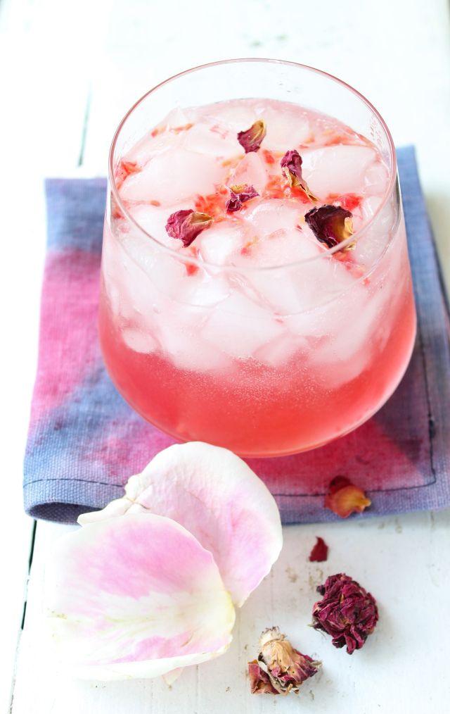 Raspberry Rose Fizz