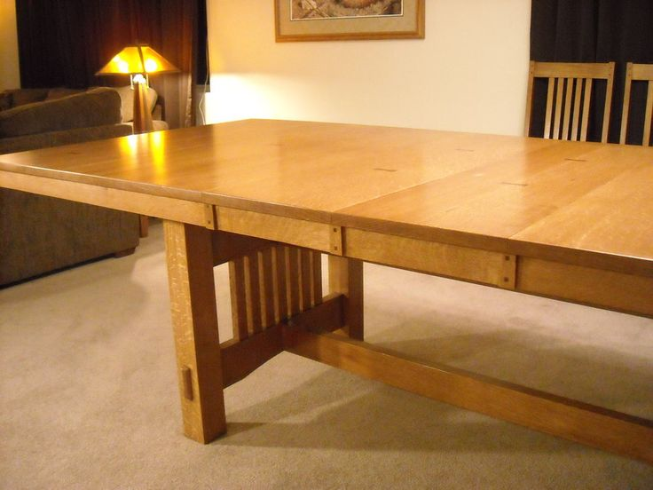 Expandable round dining table plans woodworking projects for Dining room table designs plans