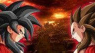 Goku ssj 4 y vegeta ssj 4