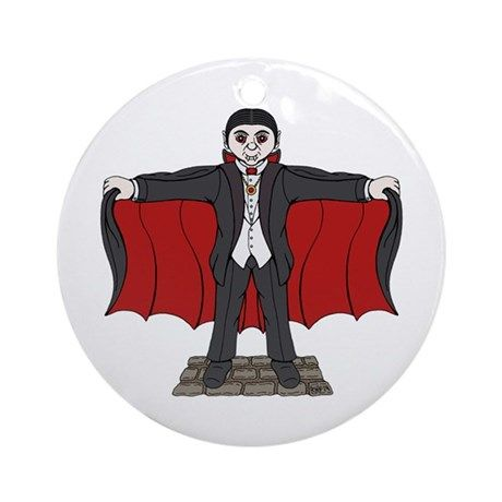 SOLD 12/1/2017 through CafePress to a customer in NJ: one Cute Vampire Round Ornament. #CafePress #sold #ornament #round_ornament #cute_vampire #cute_Dracula #cartoon_vampire #cartoon_Dracula #vampire #Dracula
