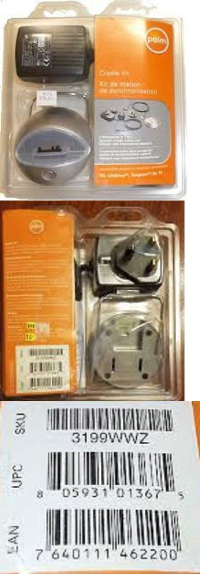 PDA Accessories: Palm Tungsten E2 T5 Lifedrive Cradle Kit Docking 3199Wwz New Sealed -> BUY IT NOW ONLY: $30 on eBay!