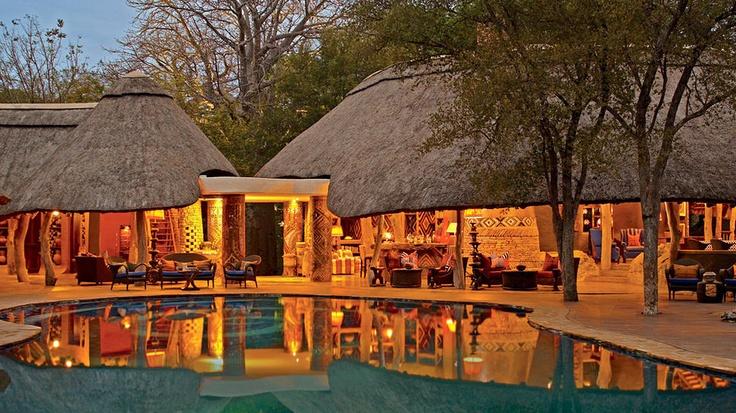 Singita Pamushana Lodge    Chiredzi, Zimbabwe... wow.. put's a whole NEW spin on the word 'LODGE', doesn't it!?