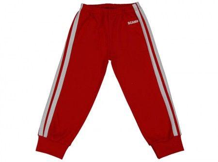 Pantalonaşi cu elastic în talie roșu aprins 100% bumbac | Cod produs: NIG099