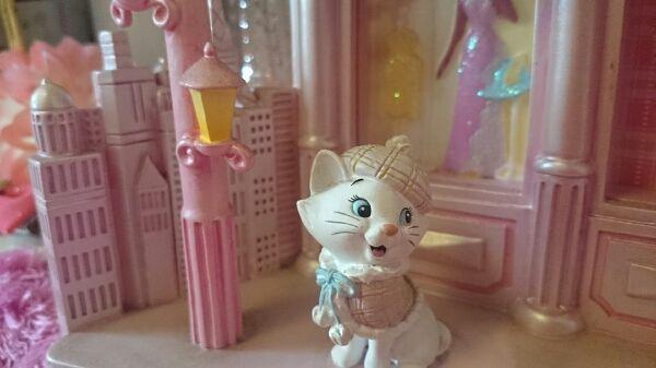 【ストア購入】Disneyフォトフレーム おしゃれキャットマリー_画像2