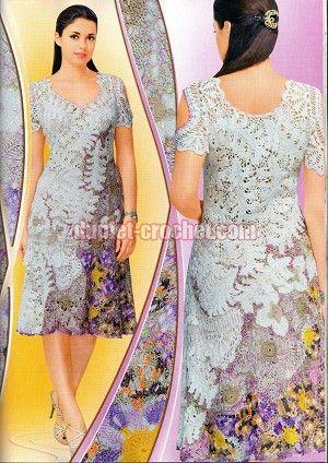 January 2014 Duplet 155 Russian crochet patterns magazine
