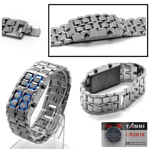 Cbus Wireless NEW Silver / Blue Glacial Lava Style LED Metal Steel Unisex Men Lady Cuff Bracelet Wrist Watch - See more at: http://jewelca.florentts.com/jewelry/bracelets/cbus-wireless-new-silver-blue-glacial-lava-style-led-metal-steel-unisex-men-lady-cuff-bracelet-wrist-watch-ca/#sthash.TbLUAlxF.dpuf