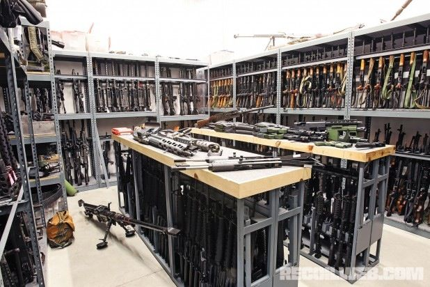 I want our gun vault room to look like this!