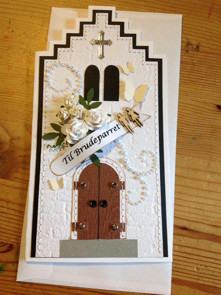 Bryllupskort.