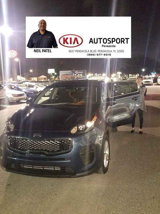 Lovely KIA AutoSport Of Pensacola And Neil Patel Would Like To CONGRATULATE Janet  Albury On The Purchase Of Her 2018 Kia Sportage!!! Thank You So Much Foru2026
