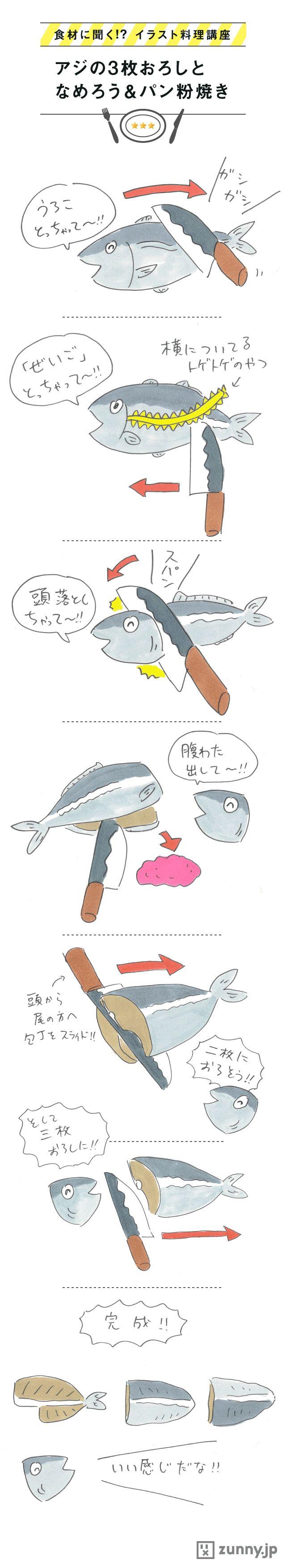 「魚をさばく」というとかなり手間がかかるイメージがあるが、アジの三枚おろしぐらいなら、意外とかんた…