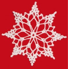 Snowflake Christmas Ornament Free Pattern