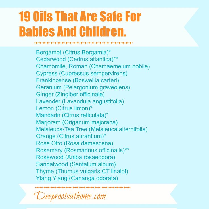 Safe Essential Oils For Children & Babies | Deep Roots at Home