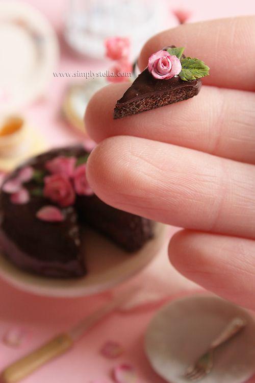 moist chocolate cake from Simplystella's Sketchbook