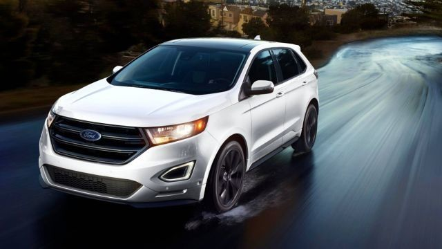 2018 Ford Edge Sport crossover SUV changes