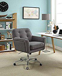 Serta Ashland Winter River Gray Home Office Chair