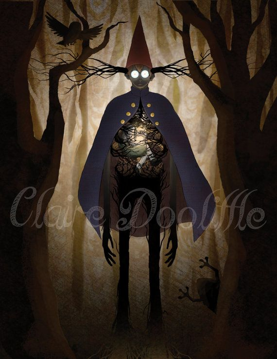 Becoming The Beast Over the Garden Wall by ClaireDoolittleShop ...