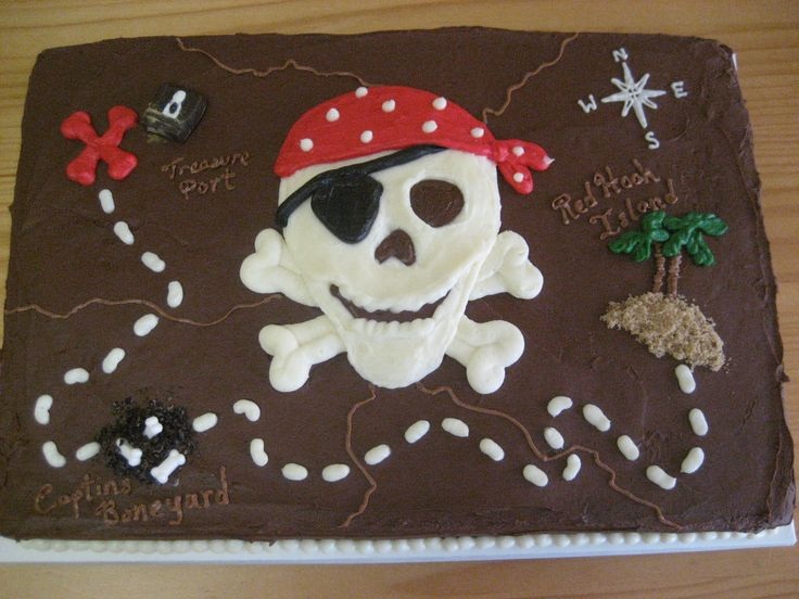 Pirate cake for Ben