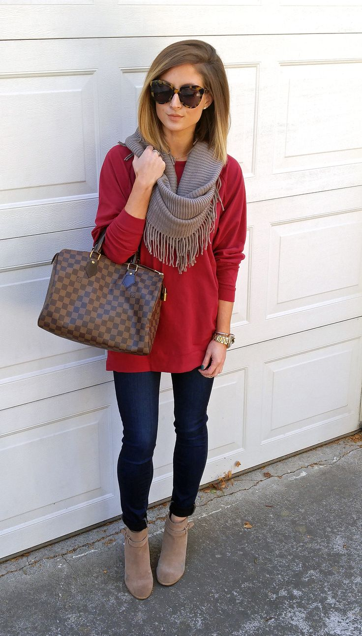 Slouchy Dolman Tunic Posted by: http://www.pardonmuah.com/2016/10/two-is-better-than-one.html