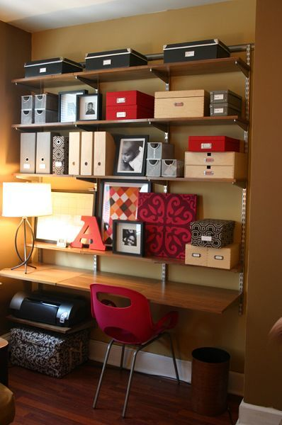 I need a space like this for all of my scrapbooking supplies.