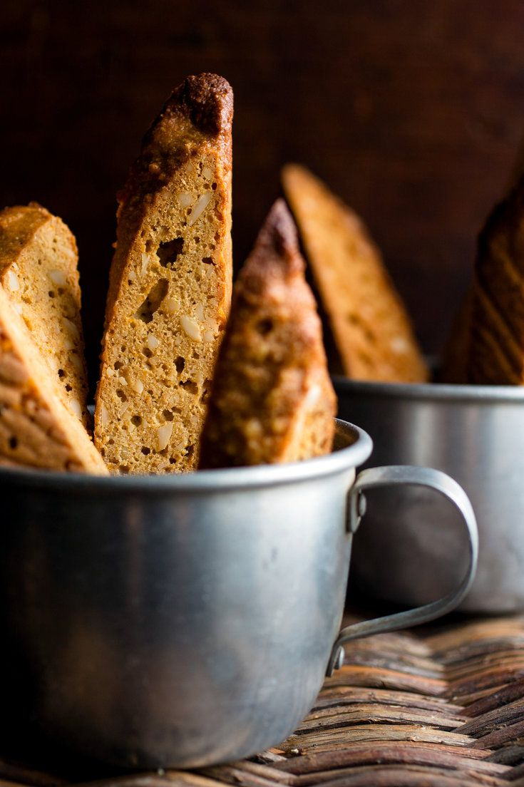 NYT Cooking: Orange, hazelnut and honey make a wonderful combination in this whole wheat biscotti. The hard cookies should be sliced thin, which will yield a lot of cookies! They are wonderful dipped in tea.