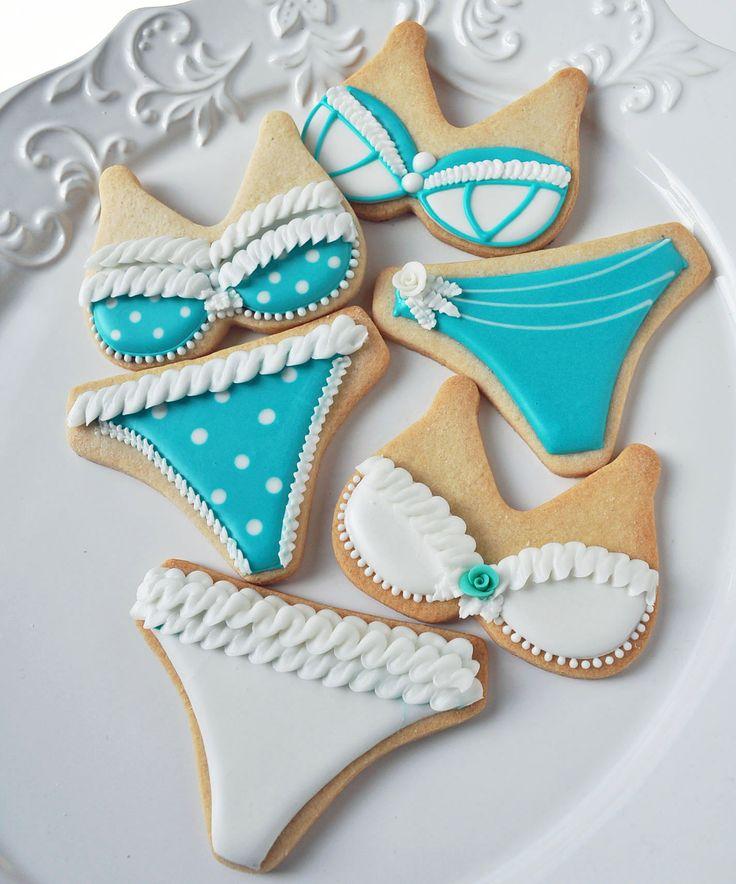Bra & Panty Cookies