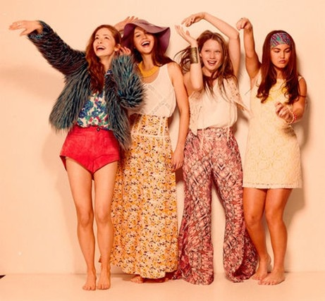 - Puberty Blues Brenna Harding, Ashleigh Cummings, Charlotte Best and Isabelle Cornish
