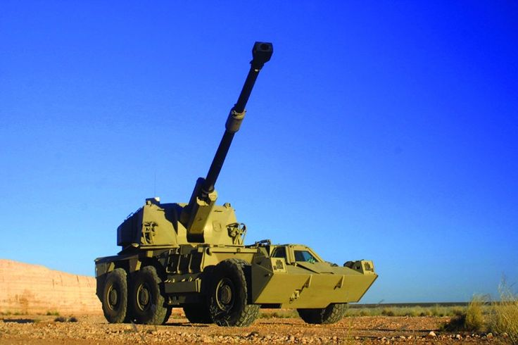 G6 155mm Self-propelled Artillery Gun