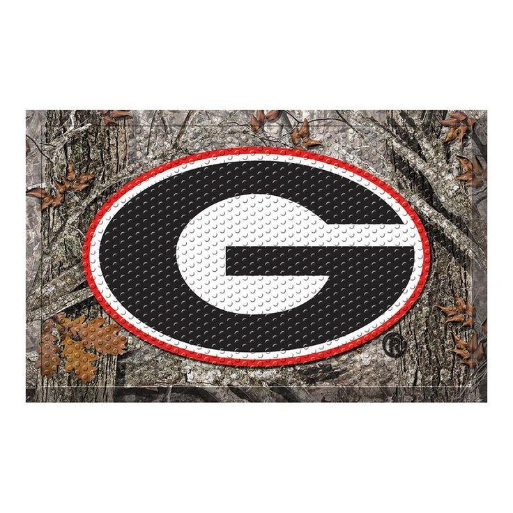 Georgia Bulldogs NCAA Scraper Doormat (19x30)
