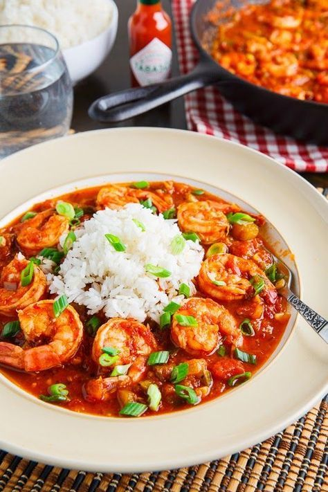 Shrimp Creole - Meagan made this and said it was amazing! She used Tony's for creole seasoning and seafood stock and white wine.
