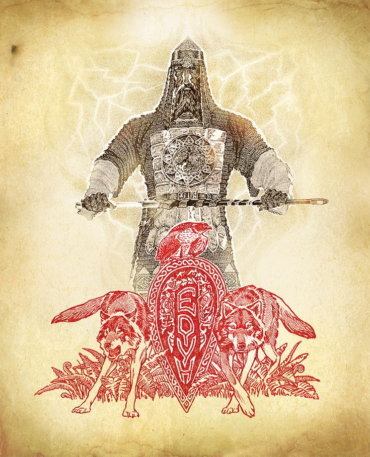 Картинки старославянских воинов