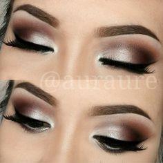 Aurelia Justina /auraure/ Instagram photos | Webstagram. DIY makeup inspiration. Ideas for brown eyeshadow color palette.