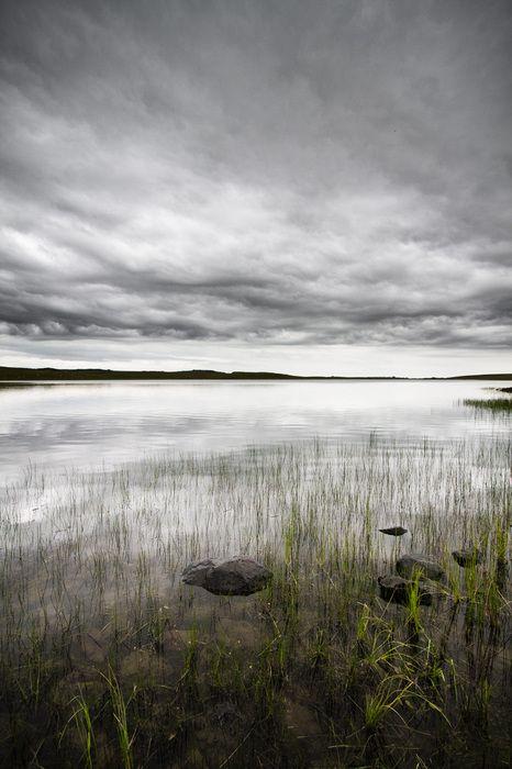 PRIX DU JURY. J'♥ le Silence. Sur les Terres de l'Aubrac, une nature encore préservée, ici au lac de Saint Andéol, entre deux orages de printemps, le silence est roi