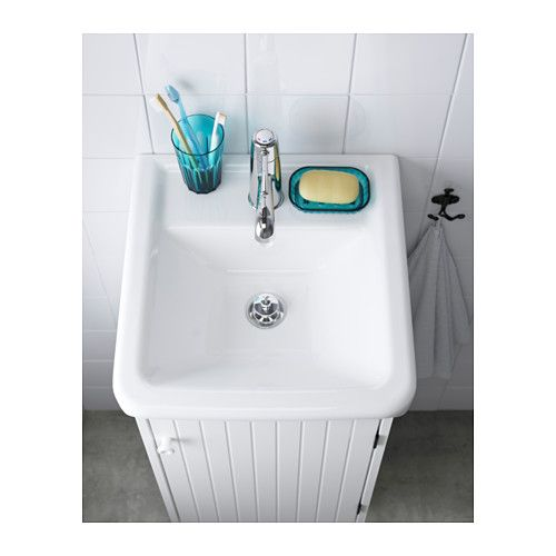 HAMNVIKEN Single wash-basin - 40x45x11 cm