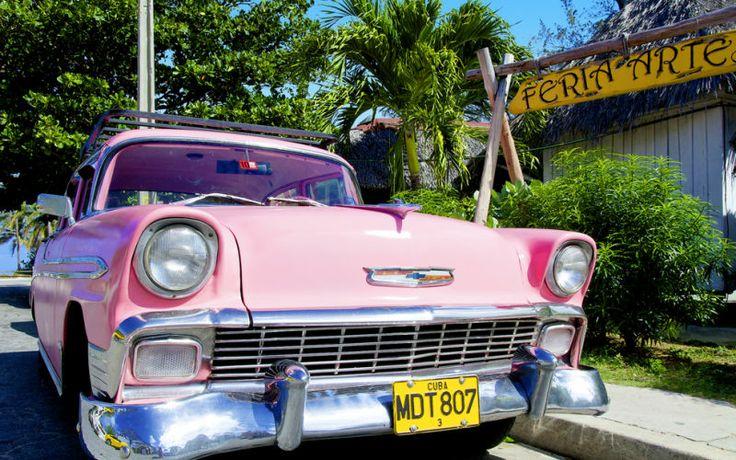 Kuuban kiertomatkalla pääset ajelemaan vanhalla amerikanraudalla! www.apollomatkat.fi #Kiertomatka #Kuuba