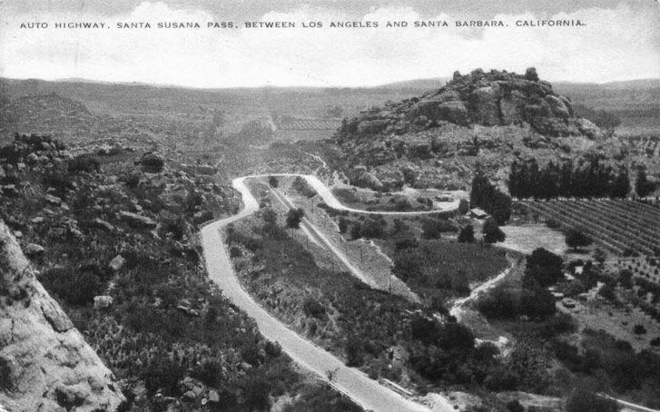The Old Santa Susana Stage Road or Santa Susana Wagon Road is a route taken by early travelers between the San Fernando Valley and Simi Vall...