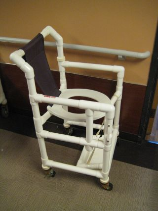 ADA Height seat to fit over the standard toilet when an elderly or handicapped family member visits. - PROJECTS MADE WITH PVC PIPE