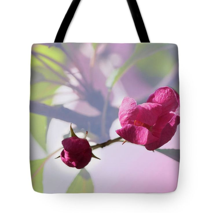 Svetlana Iso Tote Bag featuring the photograph Contemplating The Spring by Svetlana Iso