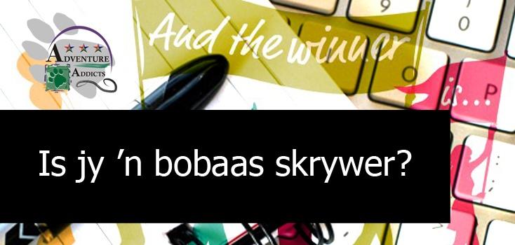Skrywers- skryf en win groot pryse!  www.kwarts.co.za/kompetisie