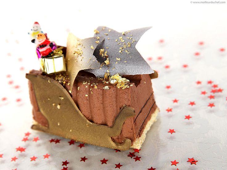 Bûche fondante au chocolat