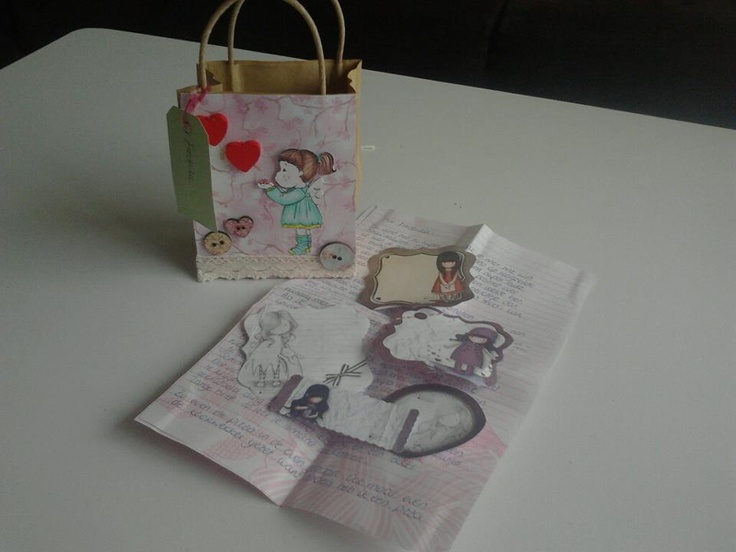 Received snailmail from Tamara! <3