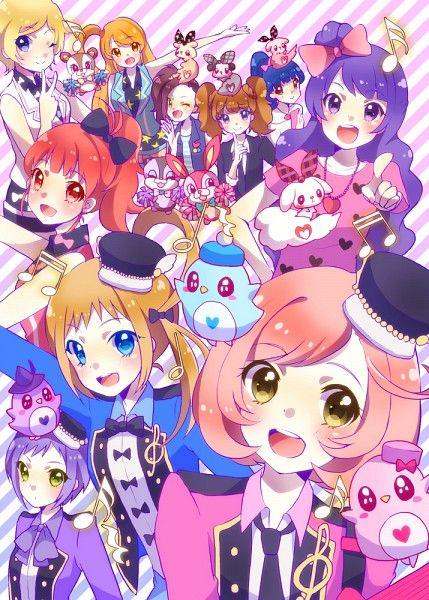 All the girls from Pretty Rhythm series!